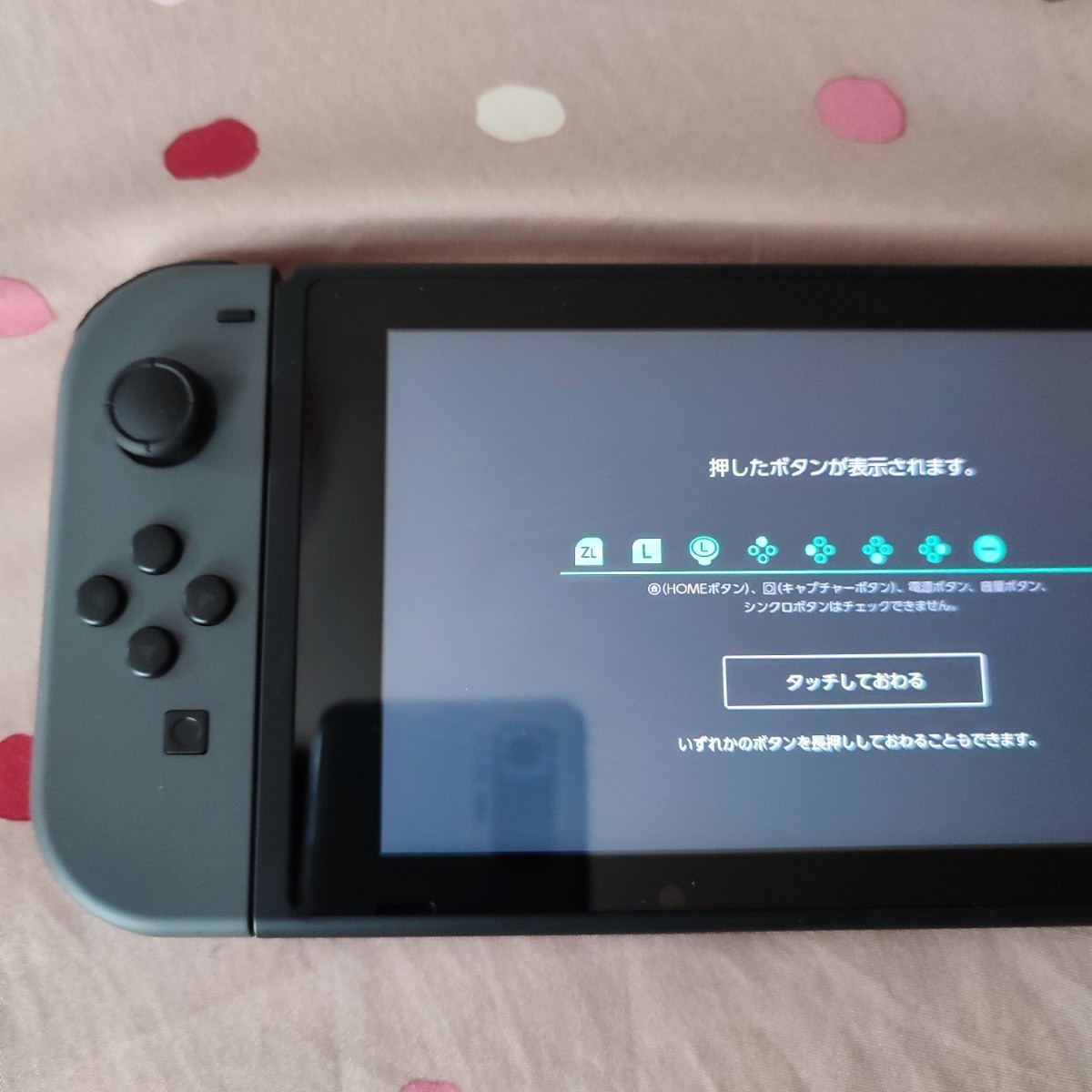 Nintendo Switch スイッチ 本体 + 周辺機器一式 中古 任天堂 2021年型 新型 おまけ(あつ森ケース)