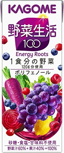 200ml×24本 カゴメ 野菜生活100 ベリーサラダ 200ml&24本_画像1