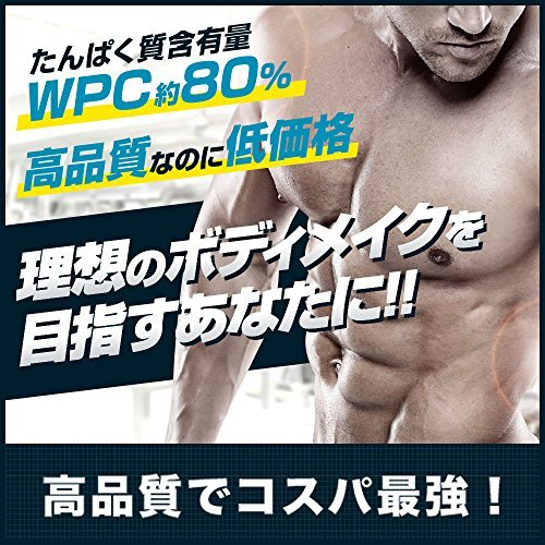 3kg アルプロン ホエイプロテイン100 3kg【約150食】ストロベリー風味(WPC ALPRON 国内生産)_画像3