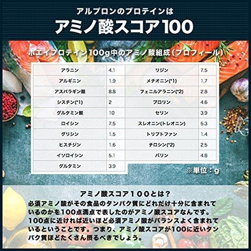 3kg アルプロン ホエイプロテイン100 3kg【約150食】ストロベリー風味(WPC ALPRON 国内生産)_画像7