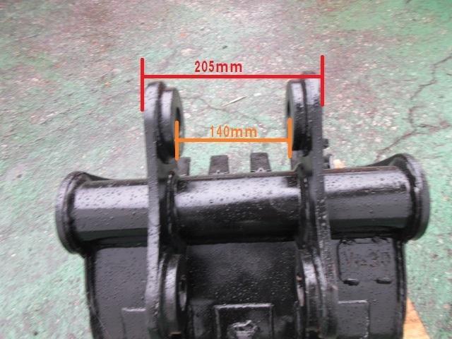 FV83 ヤンマー Vio30 用 バケット ピン径38mm 幅470mm ユンボ 建設機械_画像6