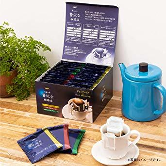 AGF ちょっと贅沢な珈琲店 レギュラーコーヒー ドリップパック アソート 40袋 【 ドリップコーヒー 】【 つめあわせ 】_画像2