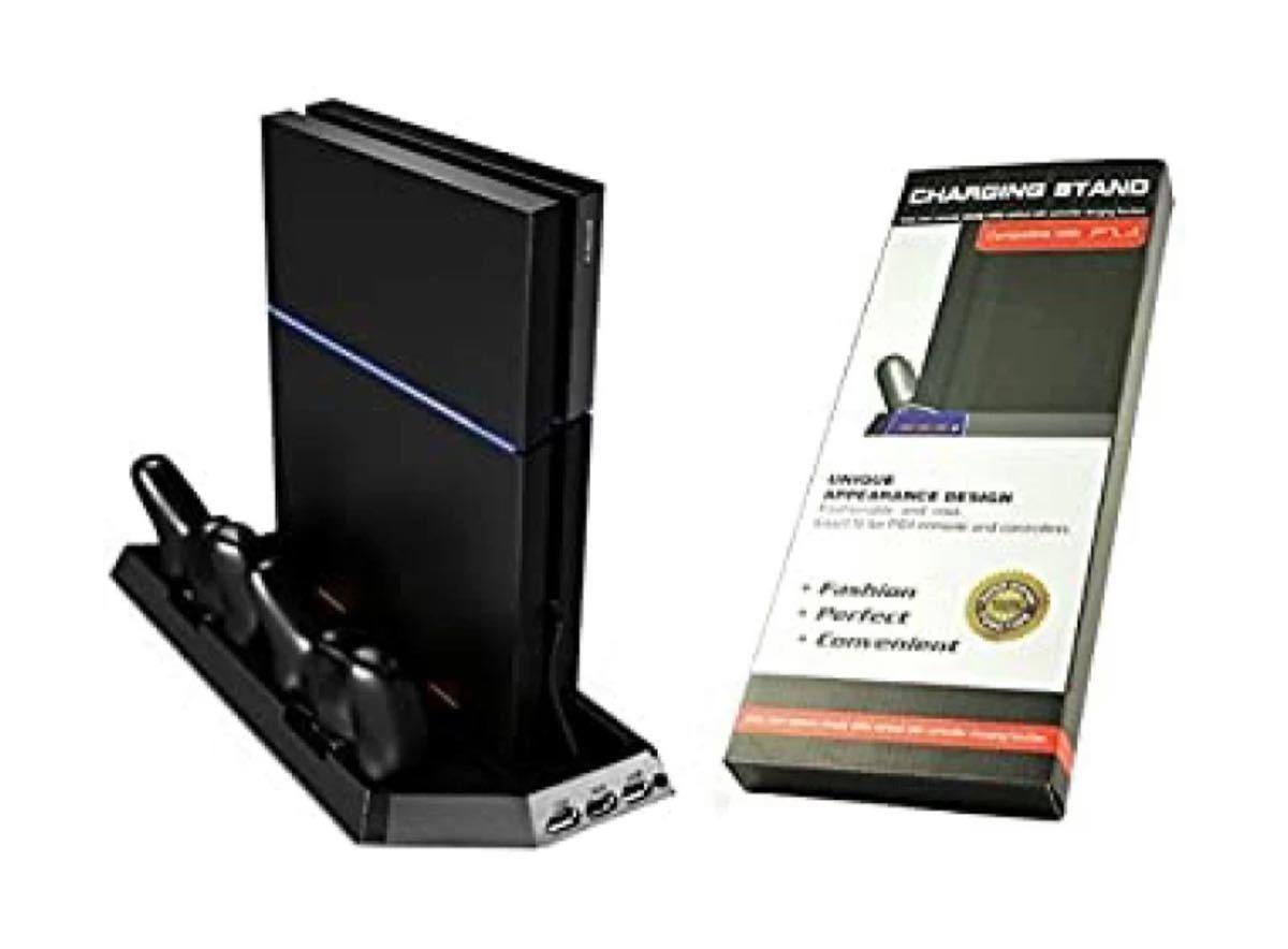 PS4 スタンド&ヘッドフォン セット  冷却 新型PS4 多機能 PS4 Pro PS4 冷却ファン ファンコントローラー