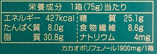 75g×5箱 明治 チョコレート効果カカオ72%BOX 75g×5箱_画像2