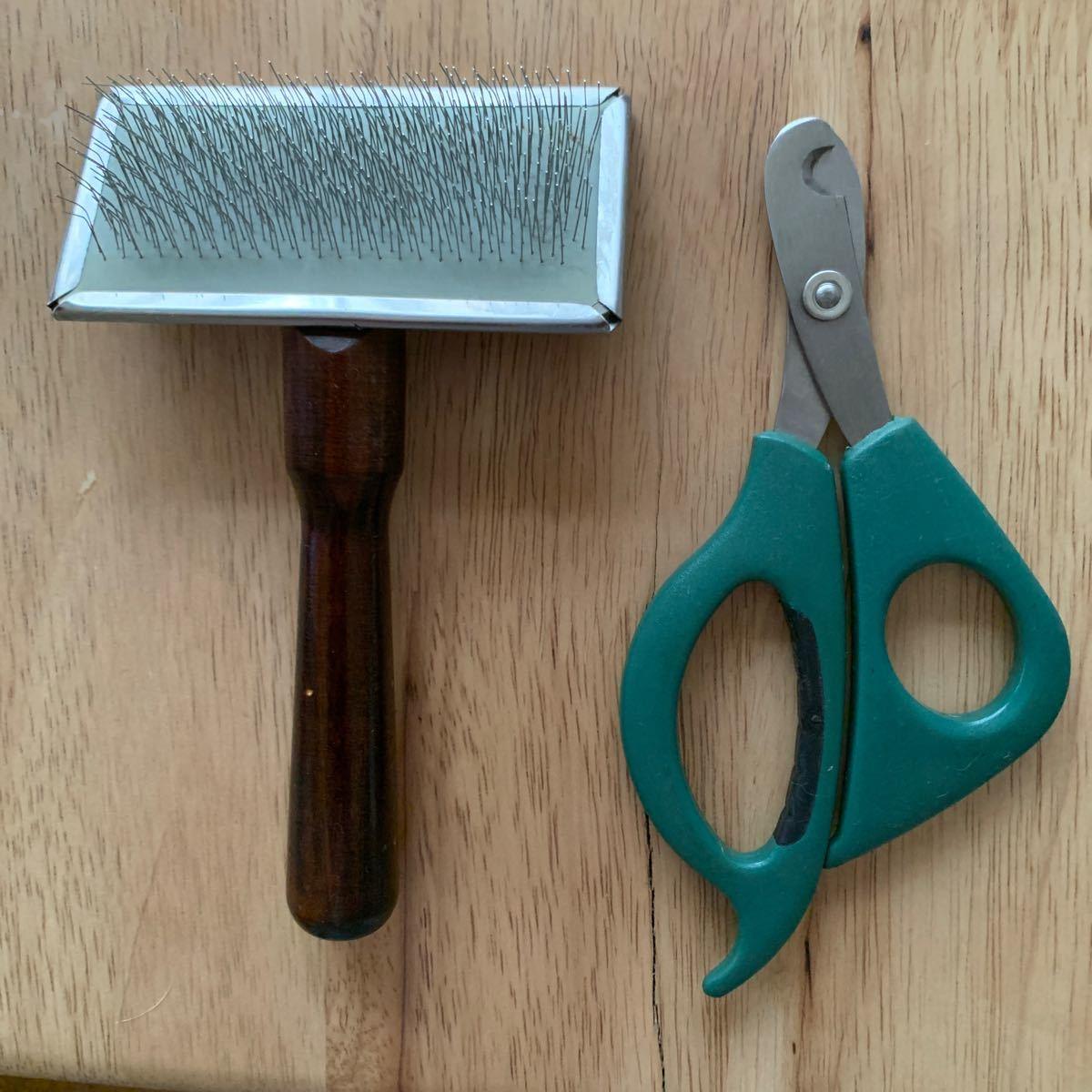 猫用爪切り&ブラシ