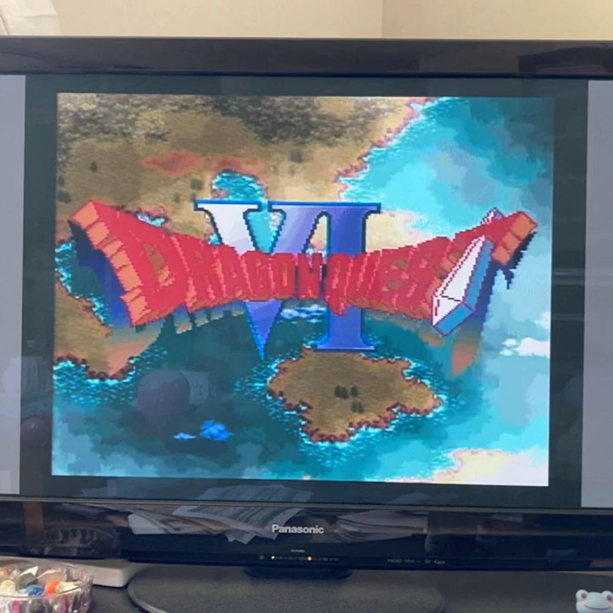 値下げ 動作確認済 ドラゴンクエスト6 スーパーファミコンソフトのみ 箱・取扱説明書あり 任天堂