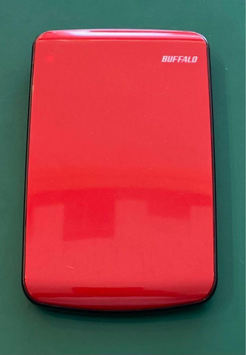 中古 外付けUSBポータブルハードディスク500GB