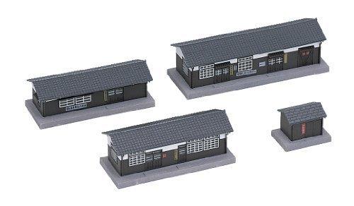 【 残り僅か】KATO Nゲージ 構内建物セット 23-226 鉄道模型用品_画像2