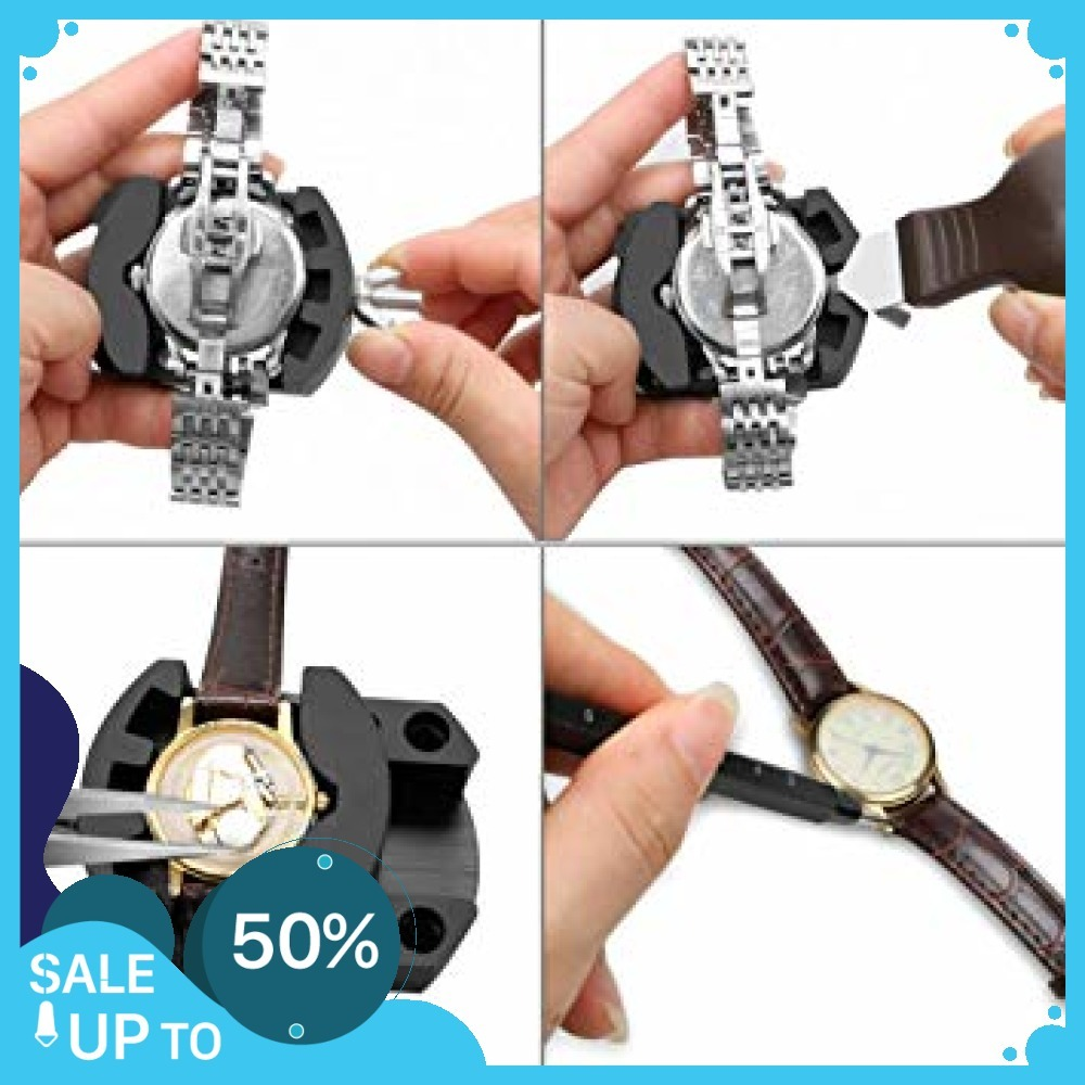 時計修理 電池交換 時計工具 腕時計ベルト調整 バンド調整 時計道具セット 腕時計修理工具 収納ケース付き 時計_画像5