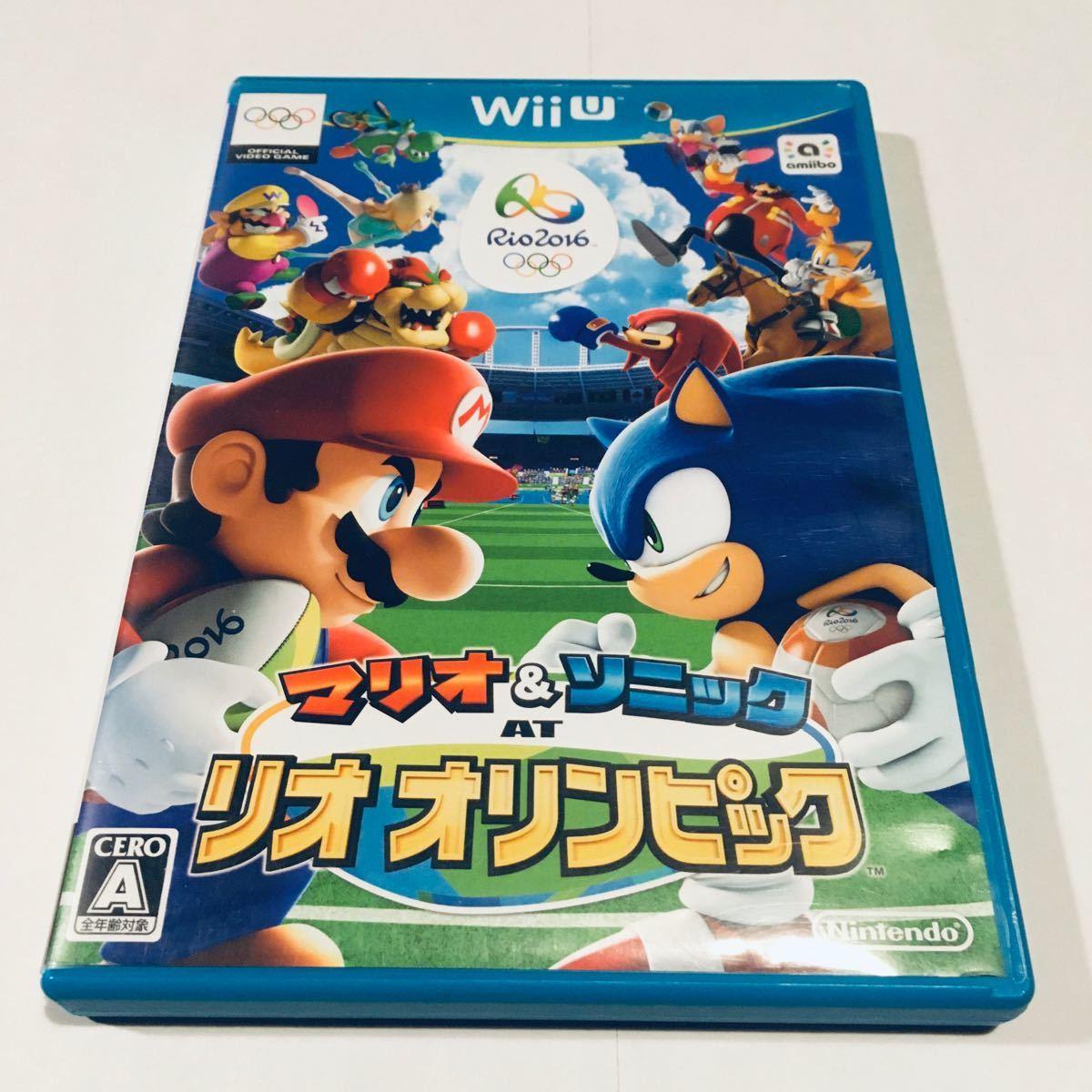 マリオ&ソニックATリオオリンピック  WiiU