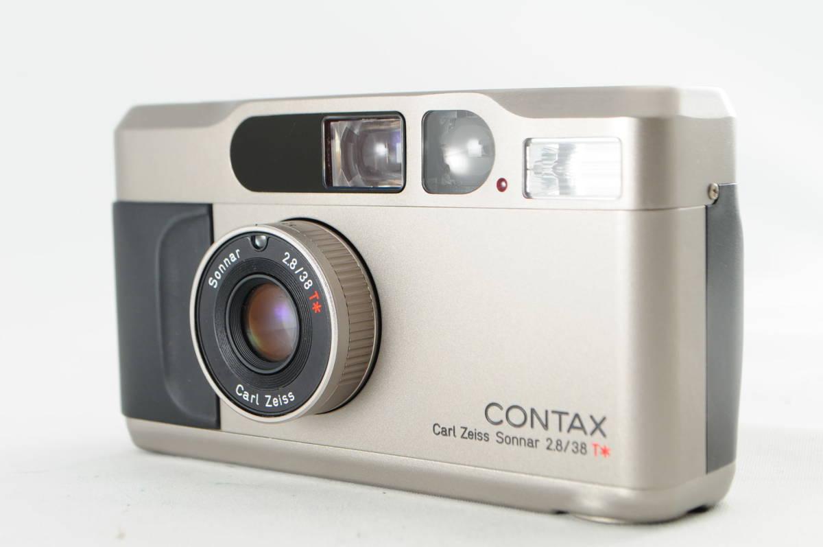 ★希少・超美品★ CONTAX コンタックス T2 Carl Zeiss Sonnar 38mm 2.8 T* 外観・光学共に最高レベル 細かく動作確認済み A0568