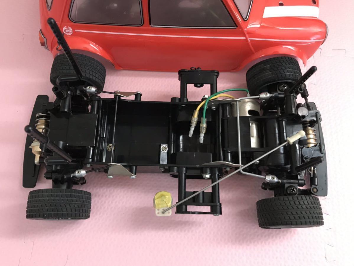 送料無料 タミヤ ラジコン車体3台 コントローラー2台 セット Mシャーシ フタバ サンワ TAMIYA FUTABA SANWA ミニクーパー スイフト ゴルフ