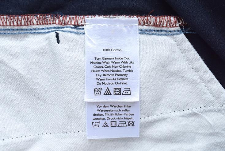 【送料無料】エディーバウアー アウトドア コットン ハーフパンツ 半ズボン 疑似餌柄 総柄 フライフィッシング Eddie Bauer W32 EZ0183