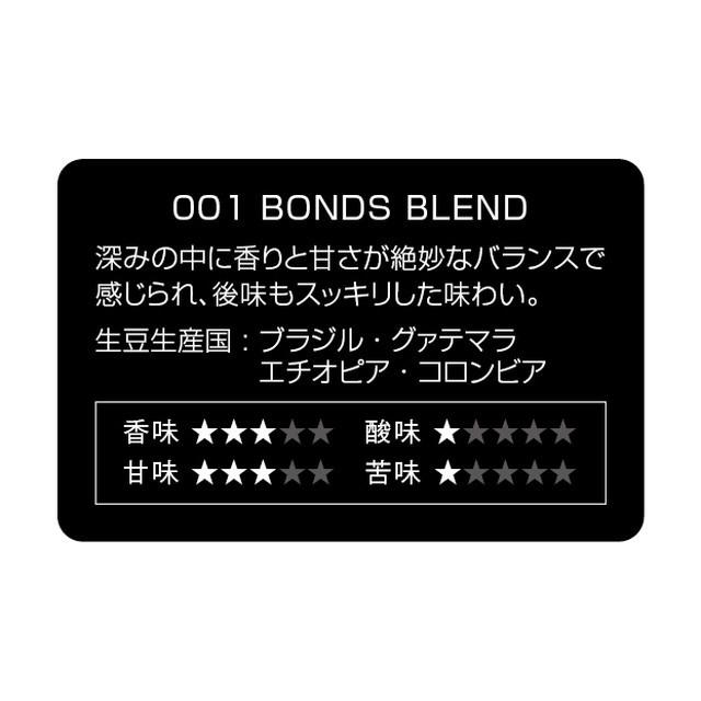 BONDS コーヒーバッグ 5Pセット (1.ボンズブレンド) ボンズローストコーヒー ティーバッグ ドリップ プレゼント お取り寄せ アメリカン雑貨_画像6