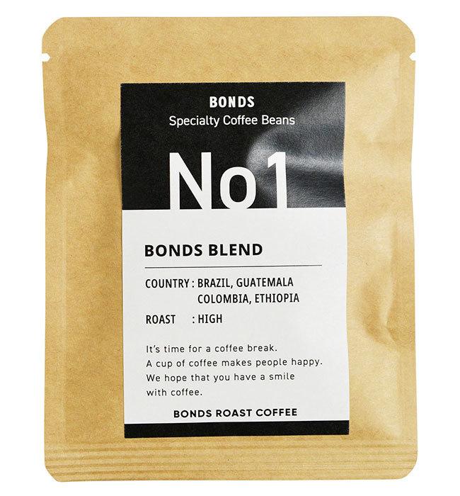 BONDS コーヒーバッグ 5Pセット (1.ボンズブレンド) ボンズローストコーヒー ティーバッグ ドリップ プレゼント お取り寄せ アメリカン雑貨_画像4