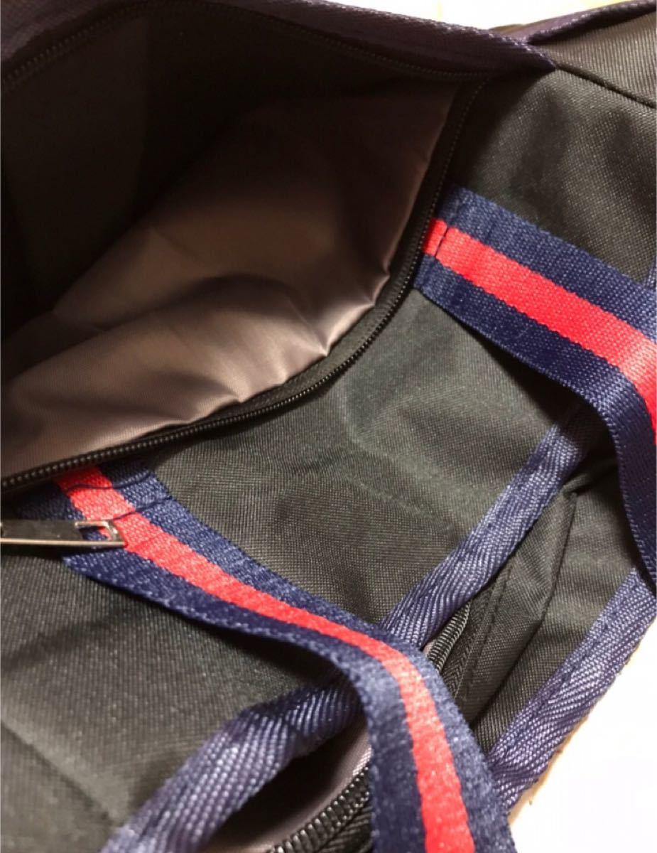 トートバッグ ブラック 黒 ミニトート ランチバッグ ゴルフ ラウンドバッグ カジュアルバッグ