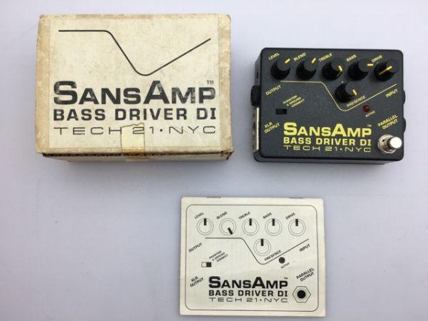 SANS AMP BASS DRIVER DI/現状渡し/まとめて取引・同梱不可 [MS843s]