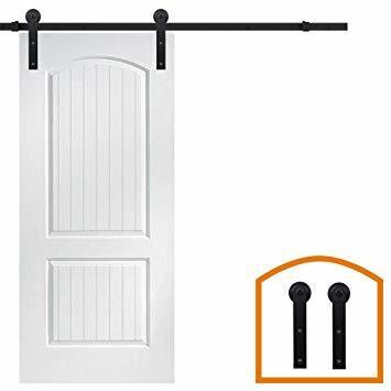 Aタイプ 5 FT (1.52メートル) 片引戸用 ZEKOO 5 FT (1.50メートル)室内ドア 引戸金物 片開き戸 両引