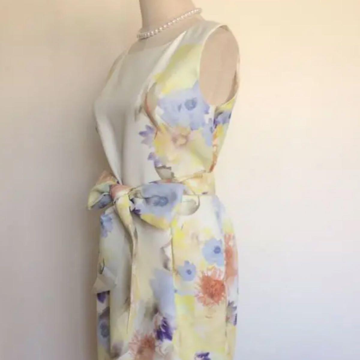 グレースコンチネンタル 花柄ワンピース ドレス