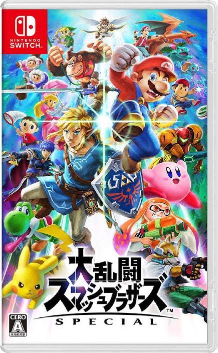 【新品未開封】シュリンク付き Nintendo Switch 大乱闘スマッシュブラザーズSPECIAL