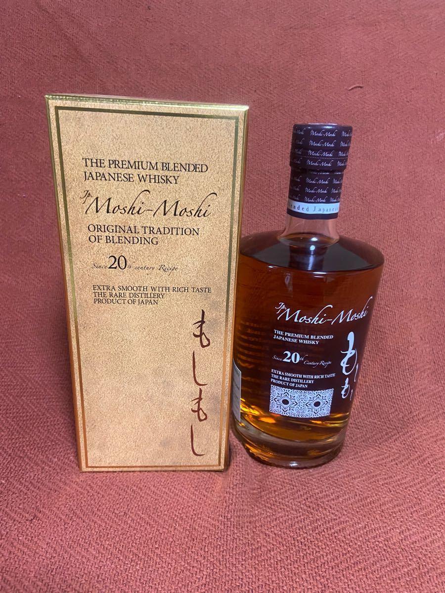 ウイスキー もしもし MoshiMoshi ブレンデッド ウイスキー 40度 箱付き 700ml 瓶 1本 信州マルス