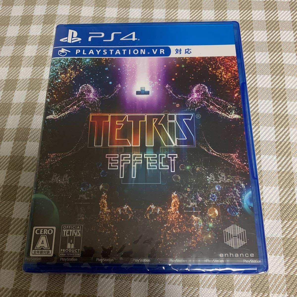 PS4 テトリスエフェクト TETRIS EFFECT PSVR対応