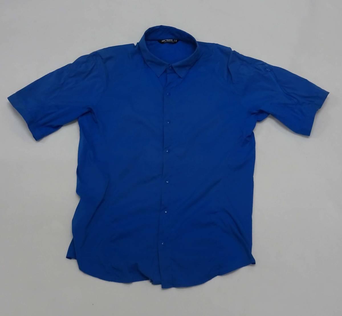 アークテリクス Arc'teryx Elaho SS Shirt 半袖 青色 SizeM