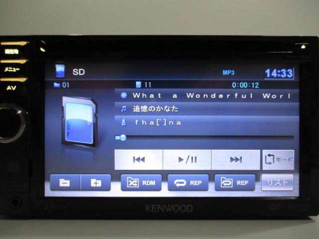 ケンウッド メモリーナビ MDV-333 2012年製 DVD ワンセグ SD USB iPod 中古_画像9