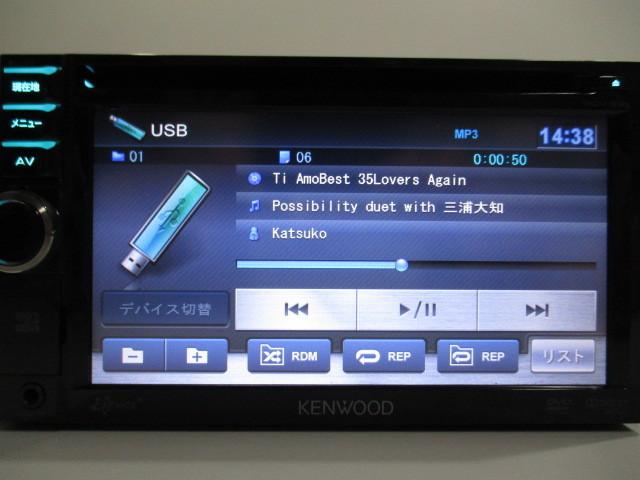 ケンウッド メモリーナビ MDV-333 2012年製 DVD ワンセグ SD USB iPod 中古_画像7