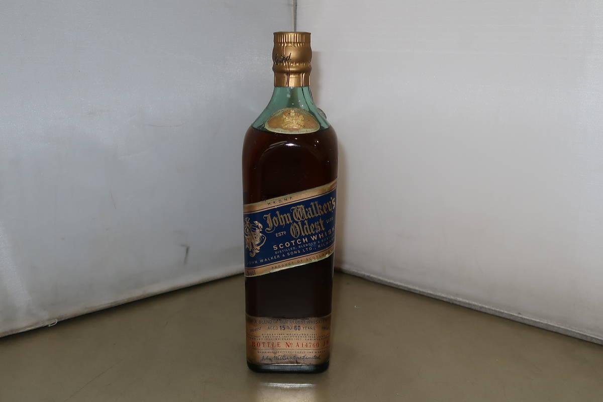♪♪1円~古酒 未開栓 JOHNNIE WALKER ジョニーウォーカー ブルーラベル ウイスキー 750m