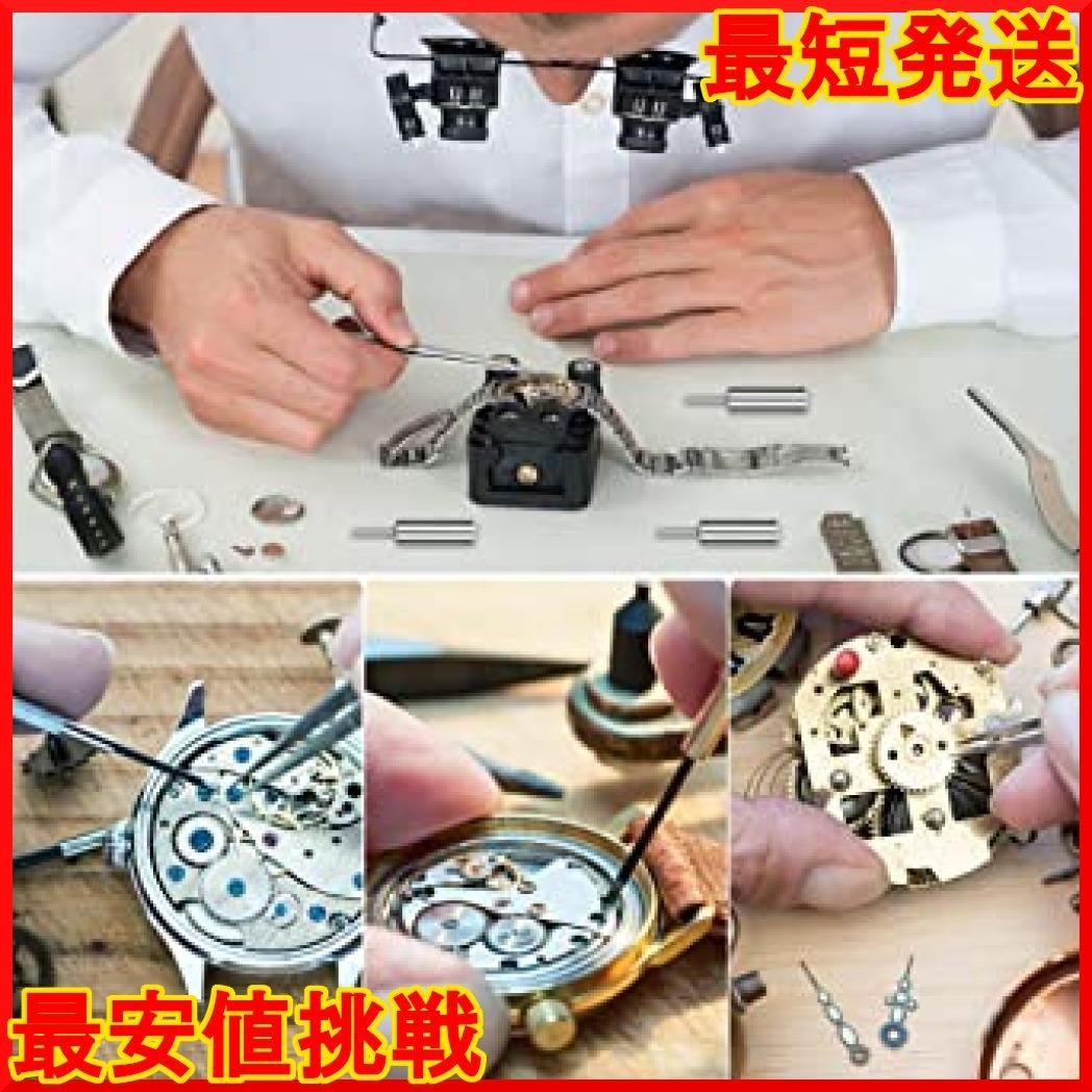オレンジ E·Durable 腕時計修理工具セット ベルト交換 バンドサイズ調整 時計修理ツール バネ外し 裏蓋開_画像7