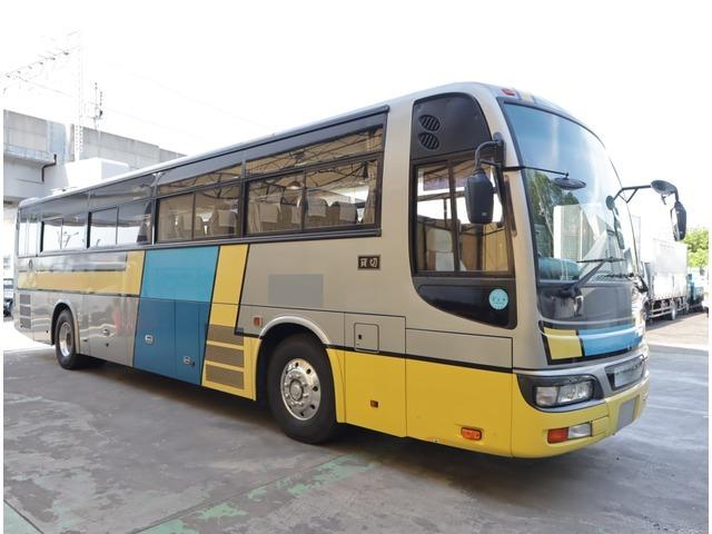 「平成19年 日産ディーゼル スペースアロー 観光バス 総輪エアサス 62人乗り@車選びドットコム」の画像2