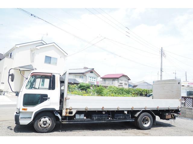 「平成14年 車検付 コンドル アルミブロック 平ボディ パワーゲート付@車選びドットコム」の画像2
