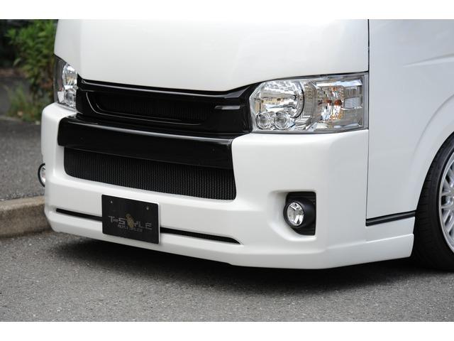 トヨタ ハイエースバン TSD ワイドルック新車コンプリート T-STYLEフルエアロ 19AW ローダウン 新車より製作いたします!@車選びドットコム_画像の続きは「車両情報」からチェック