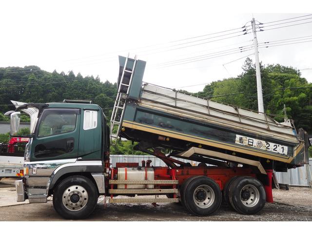 「平成14年 車検付き スーパーグレート ダンプ 5.4×2.35m 小平製 積載10.4t@車選びドットコム」の画像2