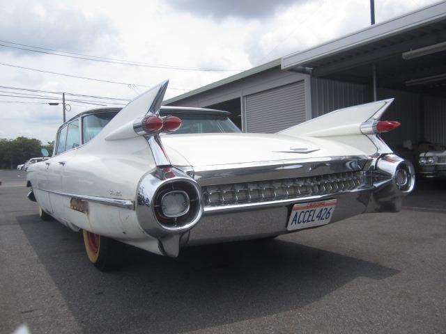 「返金保証付:1959年式・キャデラック セダン・デビル・フラットデッキトップ4ウインドウ・6400cc・車両交換可能@車選びドットコム」の画像3
