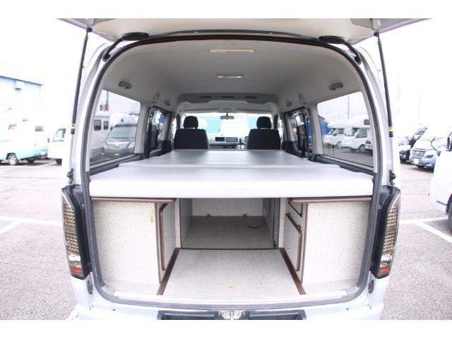 「ハイエース オリジナルベッドキット キャンピング@車選びドットコム」の画像2