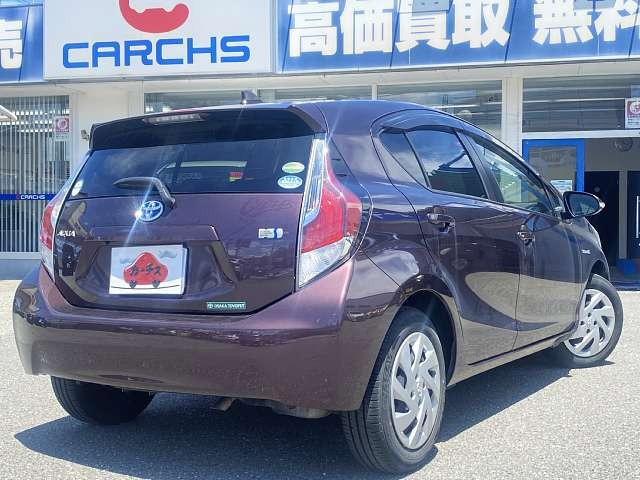 「\全車保証付/ 平成27年 トヨタ アクア 1.5 G @車選びドットコム」の画像2