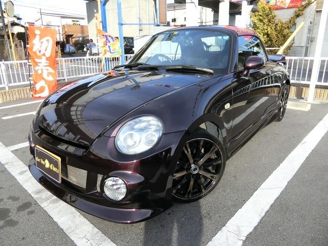 「返金保証付:平成20年 ダイハツ コペン アクティブトップ ターボ 電動オープン 外S@車選びドットコム」の画像2