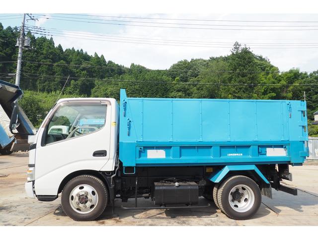 「平成19年 デュトロ 4WD 深ダンプ 観音開き 積載2t 車検付き@車選びドットコム」の画像2