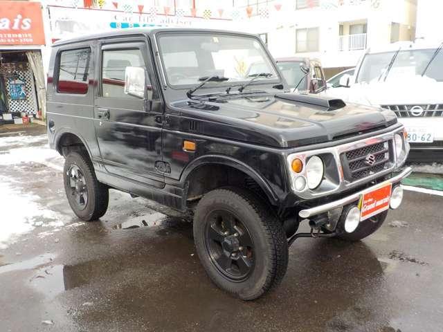 「平成10年 ジムニー ランドベンチャー 4WD 全塗装済@車選びドットコム」の画像2
