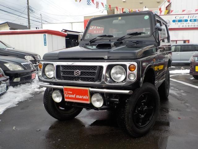 「平成10年 ジムニー ランドベンチャー 4WD 全塗装済@車選びドットコム」の画像1