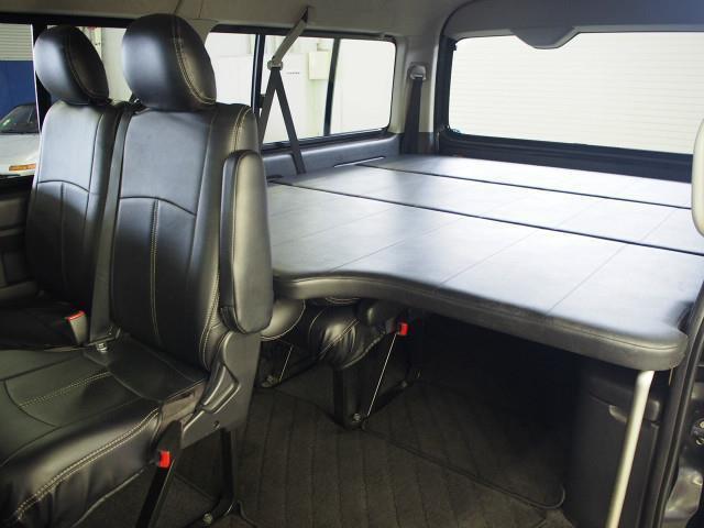 「H25 ハイエース W GL ベッドキット 天吊モニター 4WD@車選びドットコム」の画像2