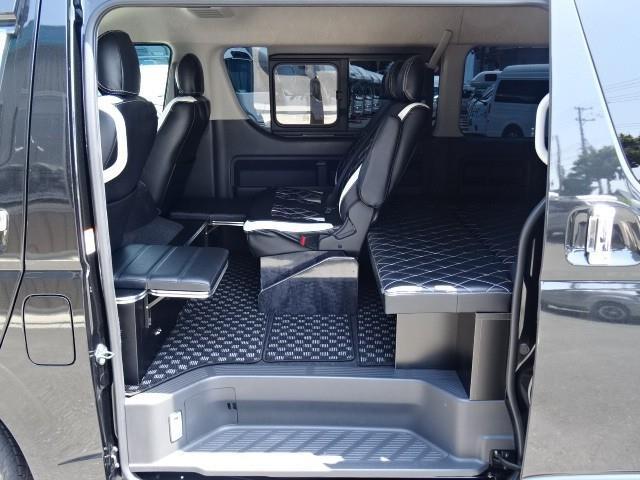 「H30 バンコン ハイエース GL Hearts製ベッドキット@車選びドットコム」の画像3
