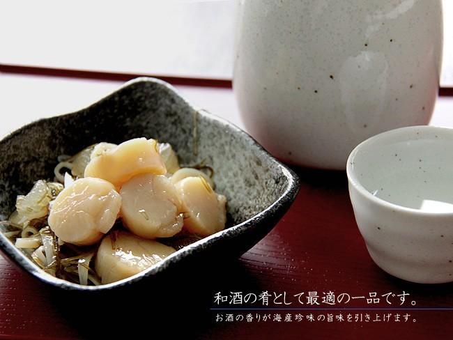 吟撰ほたて貝柱松前 200g (北海道産昆布・前浜するめ使用)甘く、コクのあるホタテ貝柱松前漬をお楽しみください。_画像5