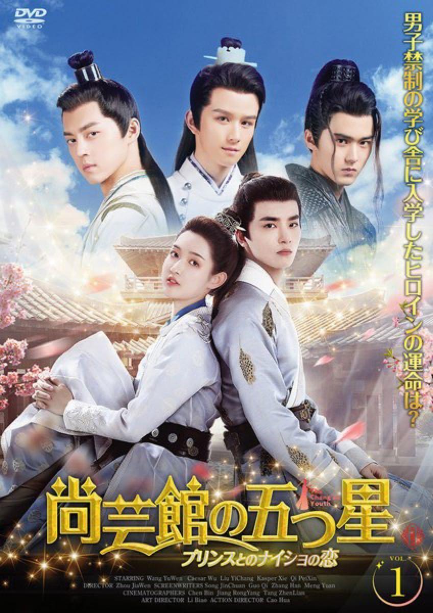 華流ドラマ  中国ドラマ 尚芸館の五つ星 プリンスとのナイショの恋 DVD 全話セット