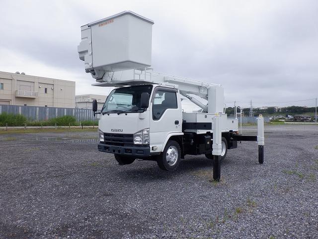 「H22 エルフ 高所作業車 タダノ AT-146-3 14.5m 電工絶縁仕様 ウィンチ サブブーム 250kgバケット PDG-NKR85YN 4JJ1 ターボ 6速」の画像3