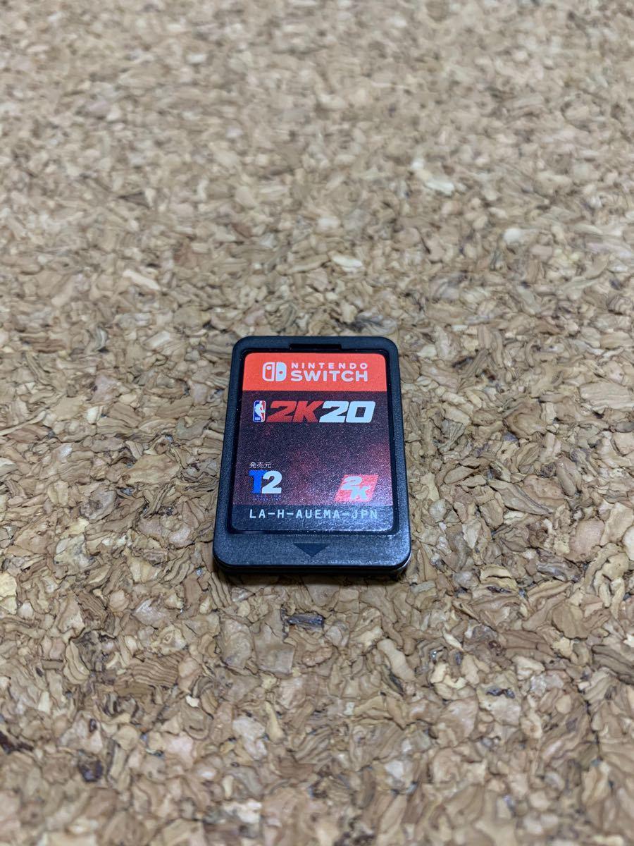 【ソフトのみ】NBA 2K20 Nintendo Switch スイッチソフト 任天堂 ニンテンドースイッチ ソフト カセット