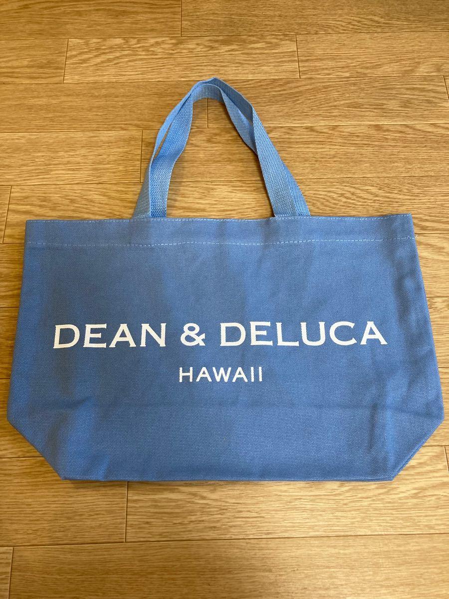 DEAN&DELUCA ディーン&デルーカ ハワイ限定 エコバッグ トートバッグ ショルダーバッグ ブルー