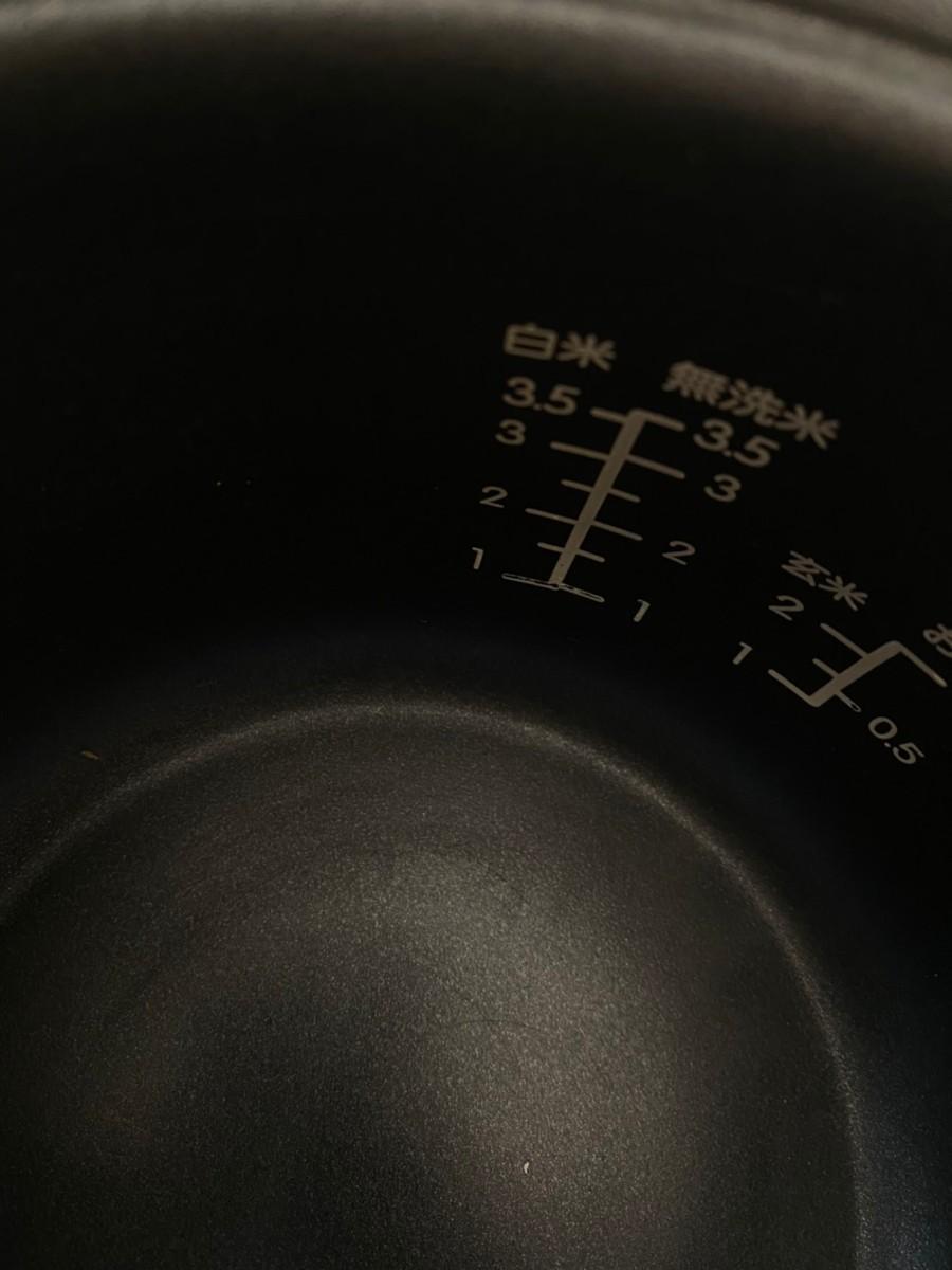 炊飯器3.5合だき